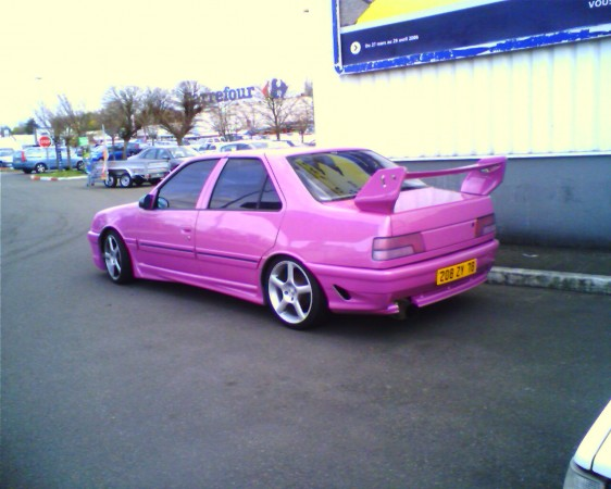 Jacky tuning peugeot rose 3