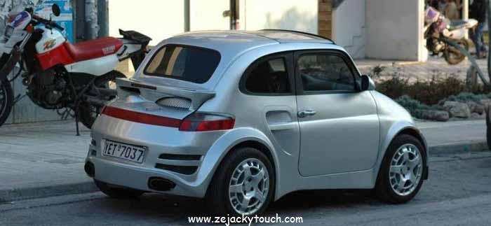 Fiat 500 jacky tuning 911 style 1