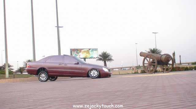 Mercedes jacky tuning style 2