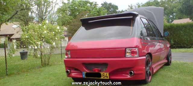 Peugeot 205 jacky tuning style 3