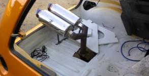 Renault 5 Echappement Jacky tuning 1