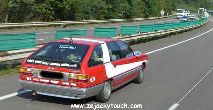 Audi Starsky et hutch jacky tuning