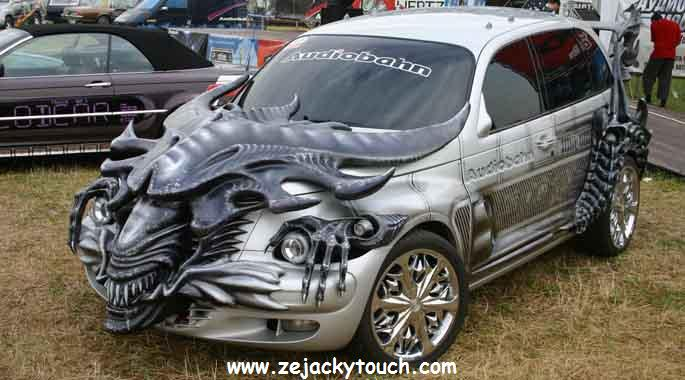 Chrysler pt cruiser Alien Touch jacky tuning