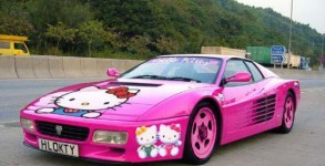Ferrari hello Kitty jacky tuning
