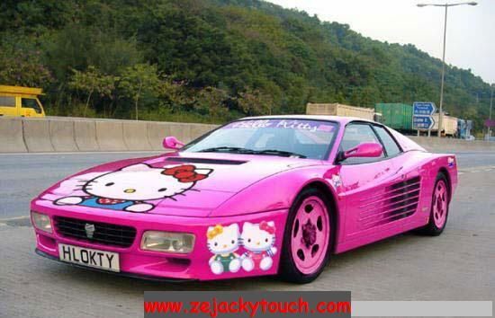 Ferrari-hello-Kitty jacky tuning