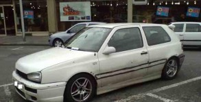 Golf 3 blanche Jacky tuning 1