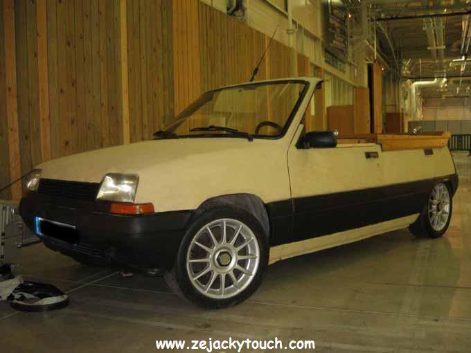 Renault 5 de jacky sapin Touch