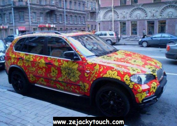 BMW X5 de jacky ... hippie touch
