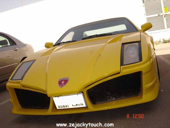 Fausse Ferrari made in Dubai 2