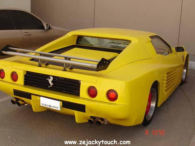 Fausse Ferrari made in Dubai 3