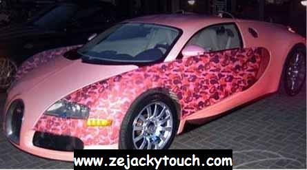 Bugatti Veyron ... BARBIE TOUCH