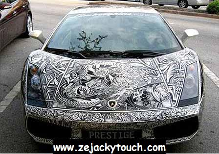 Lamborghini Gallardo ... Tribal Touch