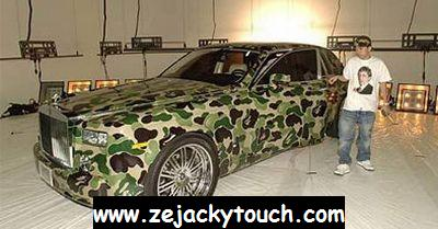 Rolls Royce Phantom ... ARMY TOUCH
