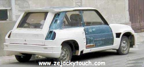 Renault 5 jacky touch - jacky tuning 1