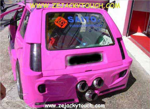 Renault 5 jacky touch - jacky tuning 2
