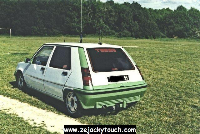 Renault 5 jacky touch - jacky tuning 3