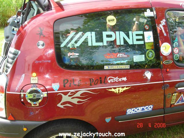 Renault Clio Racing Jacky touch 3