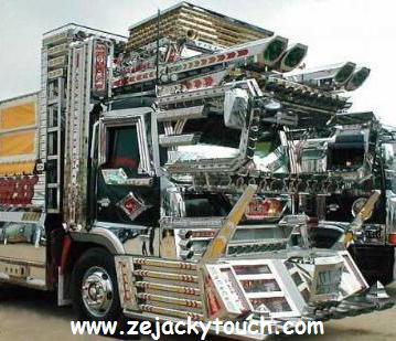 camion goldorak jacky tuning touch 1