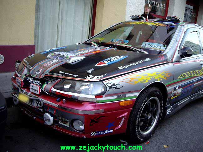 renault laguna jacky tuning touch 2
