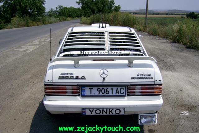 mercedes jacky sport touch 2