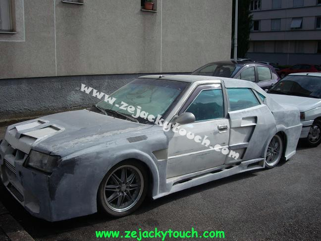 Peugeot jacky touch kit beton 2