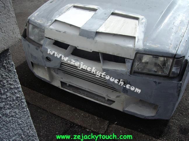 Peugeot jacky touch kit beton 4