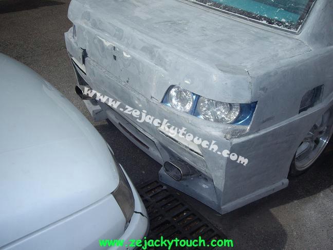 Peugeot jacky touch kit beton 8