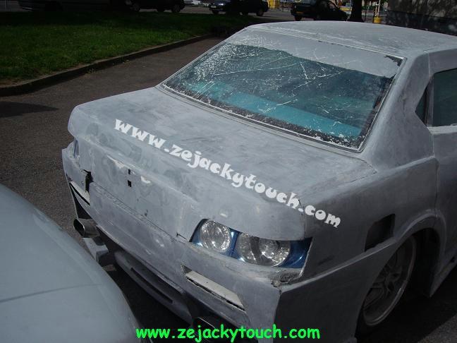 Peugeot jacky touch kit beton 9