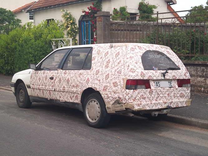 voiture papier peint - jacky tuning