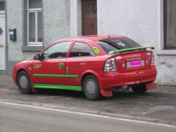 Opel Astra Bonzo le clown 2