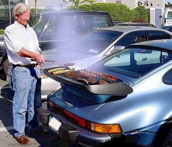 porsche barbecue jacky