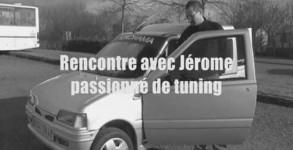 vidéo Jérôme passionné de tuning