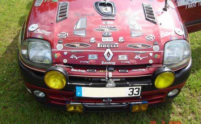 ZE Renault Clio de Jacky !!!